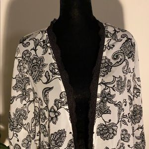 Jessica Simpson sheer robe new without tags NWOT